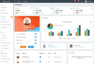 Crystal Able – Premium Responsive Bootstrap 4 Admin HTML5 Template