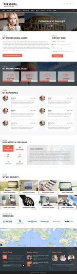 5+ Best Responsive WordPress Resume and CV Templates in 2014