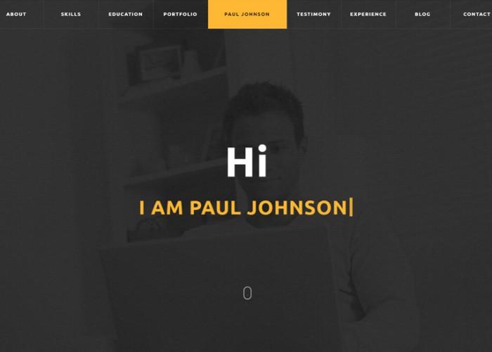 CVitae – Premium Responsive Materialized Resume HTML5 Template