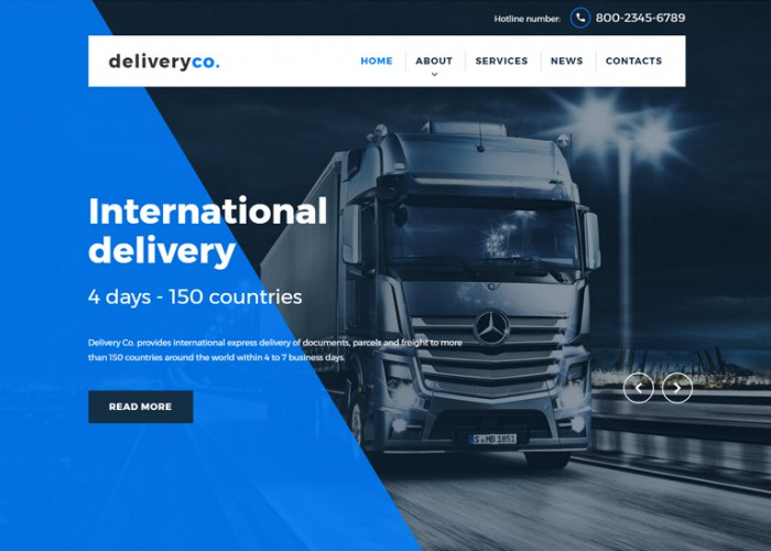 Deliveryco – Premium Responsive Delivery Services HTML5 Template