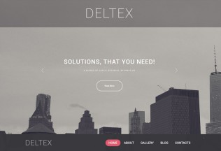 Deltex – Premium Responsive Business WordPress Theme