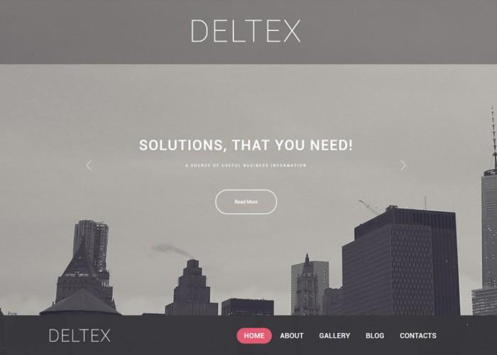 Deltex – Premium Responsive Business WordPress Theme