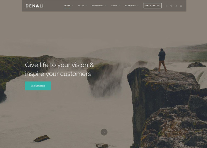 Denali – Premium Responsive Multi-Purpose WordPress Theme