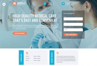 Dental Center – Premium Responsive HTML5 Template