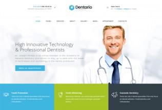 Dentario – Premium Reponsive Dentist & Medical HTML5 Template