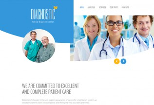 Diagnostic – Premium Resposnive Medical HTML5 Template