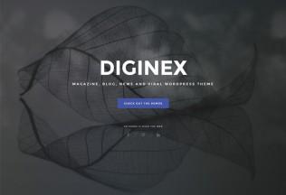 Diginex – Premium Responsive Magazine, Blog and Viral WordPress Theme