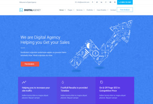 Digital Agency – Premium Responsive SEO / Marketing WordPress Theme