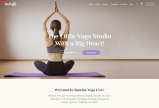 Do Yoga – Premium Responisve Fitness Studio & Yoga Club WordPress Theme