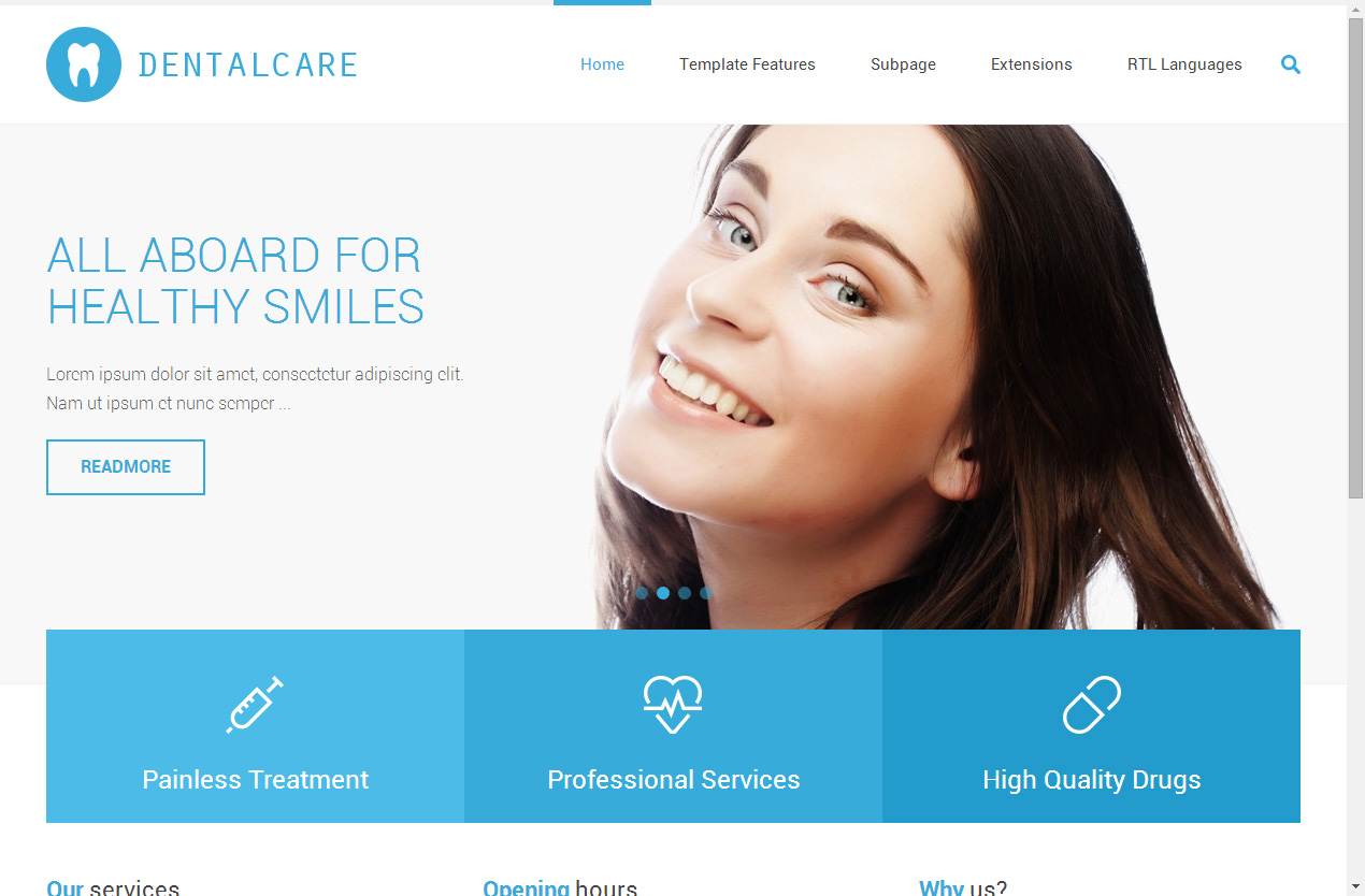 Best Responsive Dentist Joomla Templates in 2014 - Responsive Miracle
