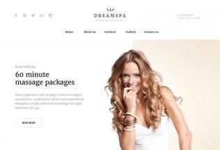 Dream Spa – Premium Responsive Beauty Salon HTML5 Template