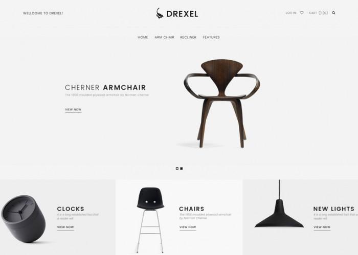 Drexel – Premium Responisve Minimalist Magento 2 Theme