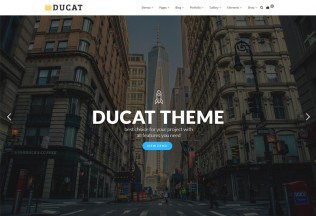 Ducat – Premium Responsive MultiPurpose WordPress Theme