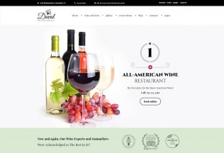 Duval – Premium Responsive Wine Restaurant WordPress Theme
