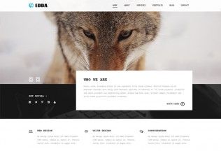Edda – Premium Responsive Creative Portfolio and Multipurpose Muse Template