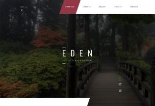 Eden – Premium Responsive Garden Design HTML5 Template
