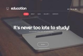 Education Hub – Premium Responsive WordPress Theme