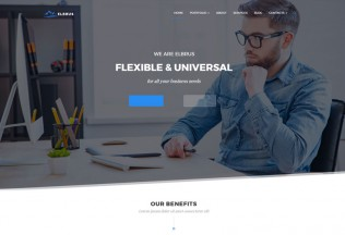 Elbrus – Premium Responsive Business & Marketing Multipurpose WordPress Theme