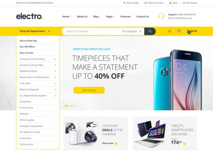 Electro – Premium Responisve Electronics Store WooCommerce Theme