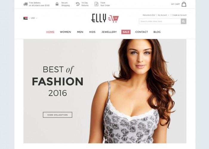 Elly – Premium Responsive Multipurpose Magento Theme