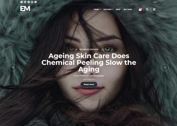 EM – Premium Responsive Blog & Magazine Drupal Theme