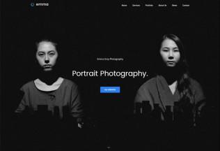 Emma – Premium Responsive Photography HTML5 Template
