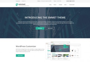 Emmet – Premium Responsive Business WordPress Theme