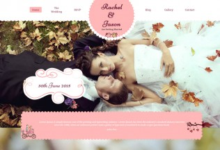 Enlance – Premium Responsive Wedding Event HTML5 Template