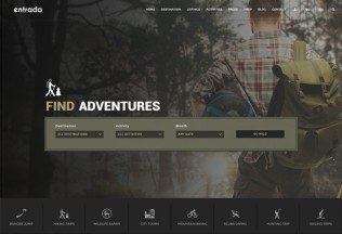 Entrada – Premium Responisve Tour Booking & Adventure Tour WordPress Theme