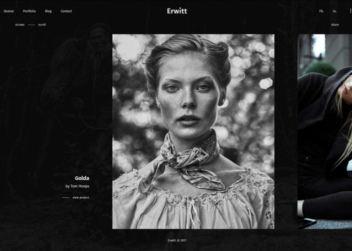 Erwitt – Premium Responsive Photography Portfolio WordPress Theme