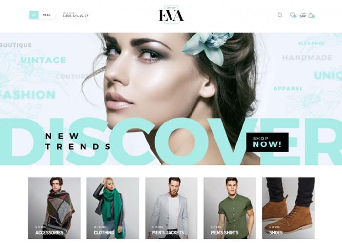 Eva – Premium Responsive WooCommerce WordPress Theme