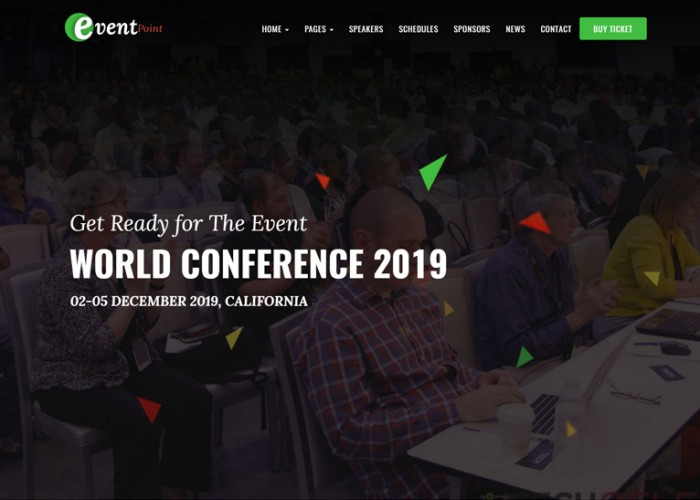 Event Point – Premium Responsive Event, Conference & Meetup WordPress Theme