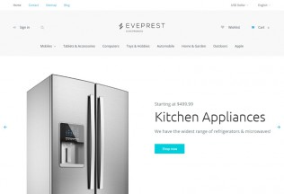 Eveprest – Premium Responsive Multipurpose PrestaShop Theme