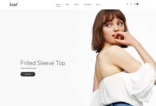 Exist – Premium Responsive Wonderful Fashion HTML5 Template