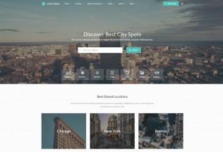 Explorer – Premium Responsive Multi Concept Directory HTML5 Template