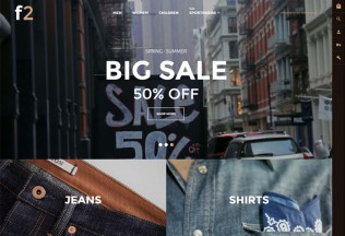 F2 – Premium Responsive Fashion Boutique Magento Theme