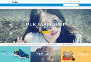 Fabia – Premium Responsive OpenCart Theme with 9 Layouts
