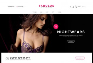 Fabulus – Premium Responsive MultiPurpose Opencart 3 Theme