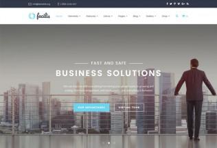 Facilis – Premium Responsive Business HTML5 Template