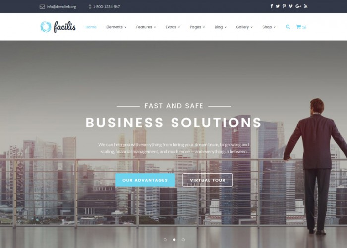 Facilis – Premium Responsive Business HTML5 Template
