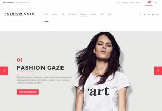Fashion Gaze – Premium Responsive Apparel Store WooCommerce WordPress Theme