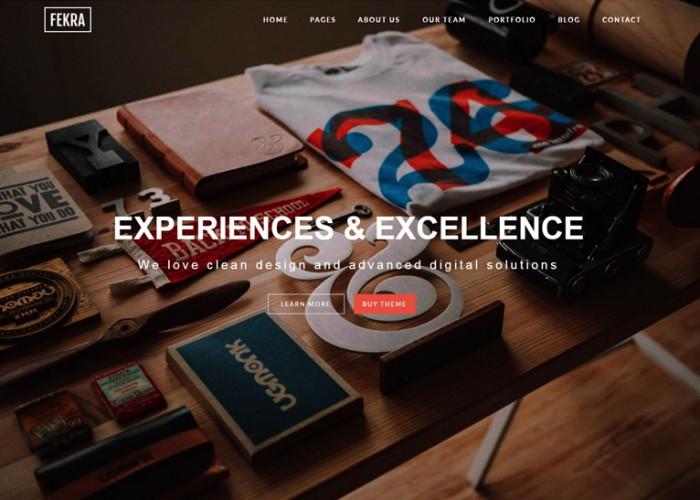 Fekra – Premium Elegant Multipurpose Muse Template