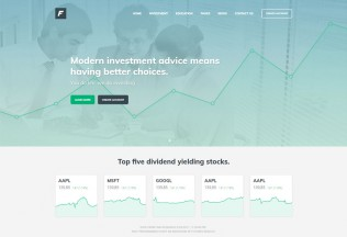 Fina – Premium Responsive Finance and Business HTML5 Template