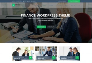 Finance – Premium Responsive Consulting, Accounting WordPress Theme