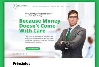 Financial Advisor – Premium Responsive WordPress Theme