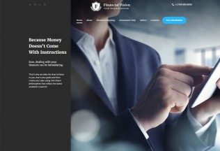 Financial Vision – Premium Resposnive HTML5 Template