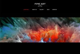 Fine Art – Premium Responsive Art Gallery WordPress Theme