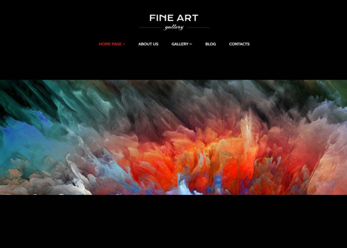 Fine Art – Premium Responsive Art Gallery WordPress Theme