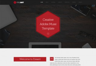 Fireant – Premium Multipurpose One Page Muse Template