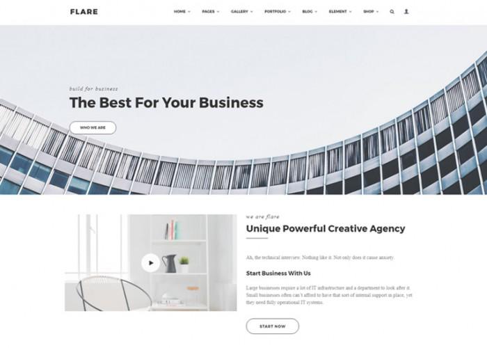 Flare – Premium Responsive Flexible WordPress Theme